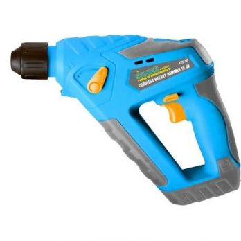 Cordless Rotary Hammer 14.4V Li-ion,Stroke Power 1.1Joules, Quick Charger with Extra Battery in Blow Case