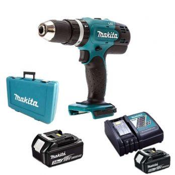Makita Cordless Hammer Drill 13mm 2 Speed 18V