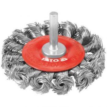 Circular Brush Twisted Wire 75mm,6mm bar