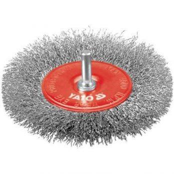 Circular Brush Steel Wire 100mm,6mm bar