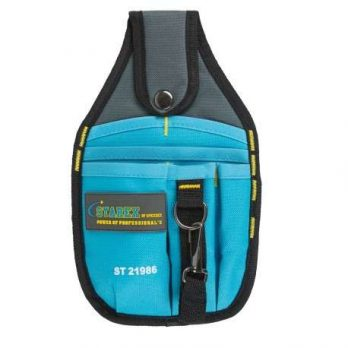 Holster Tool Bag 26x15x3cms Blue Grey Colour