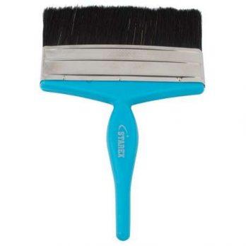 Paint Brush 4″ Blue Plastic Handle Starex