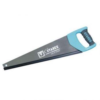 Handsaw 20″ Soft Grey/Blue Plastic Hndl Teflon Painted 2-side Grind Starex Brand