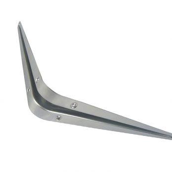 SHELF BRACKET – GREY 4″ X5″ X 0.7mm