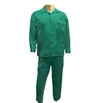 PANT SHIRT CTN DARK GREEN 2XL