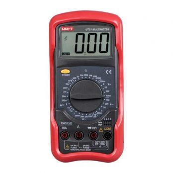 UNI-T UT51 Digital multimeter Voltmeter Ammeter Ohmmeter Diode/Continuity Test Overload Protection Meter Multimeter Auto Range