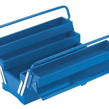 Tool Box 5 Tray Blue Color Poland